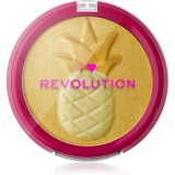 I Heart Revolution Fruity Highlighter Pineapple Pudra compacta ce ofera luminozitate