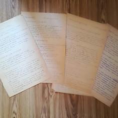 Manuscris rețete culinare, anii 50, 9 pagini
