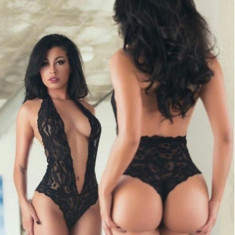 Lenjerie Lady Lust Sexy Costum Babydoll Teddy Monokini Dantela Body