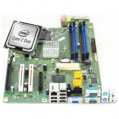 Placa de baza pentru Fujitsu Esprimo E7936, model D3028 A10 GS3, Socket 775, Fara shield + Procesor Intel Core2 Duo E8400 3.00GHz
