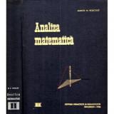 Manual de analiza matematica vol. II - Calculul integral - Ecuatii diferentiale