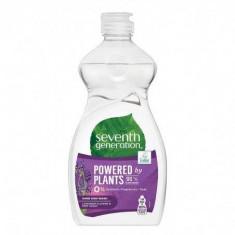 Detergent ecologic pentru vase, utilizare manuala Seventh Generation Lavender Flower & Mint, 500ml