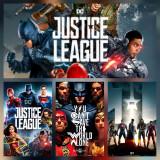 Poster Justice League Afis A3 Batman Superman Flash Wonder Woman