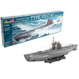 Cumpara ieftin German Submarine TYPE VII C41 Atlantic Version, Revell, 107 piese-RV5100