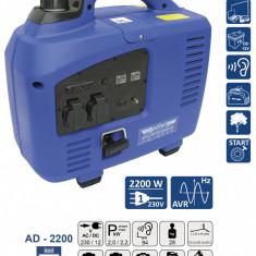 Cumpara ieftin Generator de curent pe benzina tip invertor AD-2200 2.2 kW ADLER MA3700.2