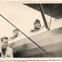 Fotografie avion romanesc circa al doilea razboi mondial