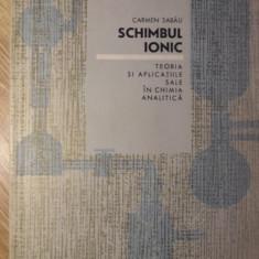SCHIMBUL IONIC. TEORIA SI APLICATIILE SALE IN CHIMIA ANALITICA - CARMEN SABAU