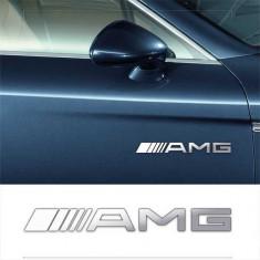 Stickere laterale CHROME - AMG (set 2 buc.)