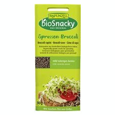 Seminte de Brocoli pentru Germinat Bio 30gr Rapunzel Cod: 690440