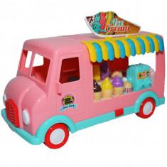Furgoneta cu sunete si lumini Ice Cream Truck