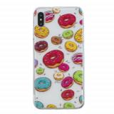 Cumpara ieftin Carcasa Husa Apple iPhone XS Max model Donuts, Antisoc + Folie sticla securizata Apple iPhone XS Max Tempered Glass Viceversa