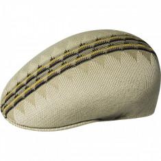 Basca Kangol Argyle Stripe 504 Bej (Masura: M, L) - Cod 181