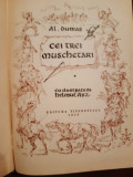 Cei trei muschetari de Alexandre Dumas
