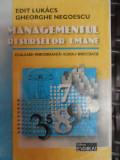 Managementul Resurselor Umane - Gheorghe Negoescu ,548489