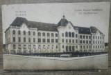 Turda, Liceul Regele Ferdinand// CP, Circulata, Fotografie
