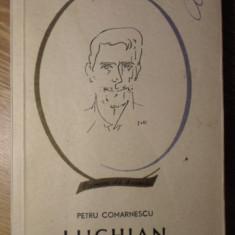 LUCHIAN - PETRU COMARNESCU