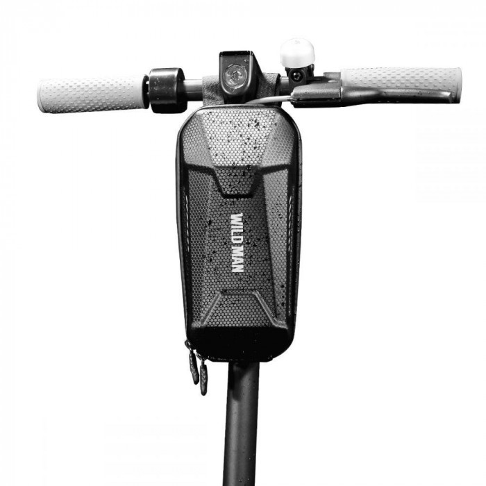 Geanta impermeabila pentru biciclete si trotinete electrice WildMan M Neagra