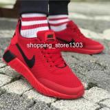 Adidasi Nike  pantofi sport Nike new model 2019, 40 - 43, Rosu, Textil