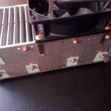 Radiatoare aluminiu - racire etaj final audio, Yamaha