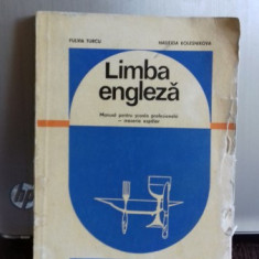 LIMBA ENGLEZA - FULVIA TURCU