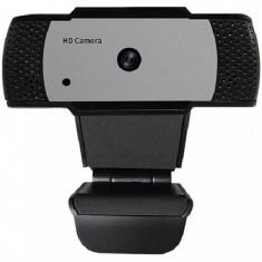 Camera web In One, 5 MP, USB 2.0, FullHD, trepied inclus, autofocus, microfon incorporat, Negru
