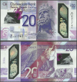 SCOTLAND SCOTIA █ bancnota █ 20 Pounds █ 2019 2020 █ POLYMER CLYDESDALE BANK UNC