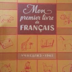 Mon premier livre de francais