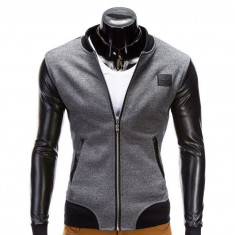 Jacheta pentru barbati, casual, slim fit, cu fermoar - B347