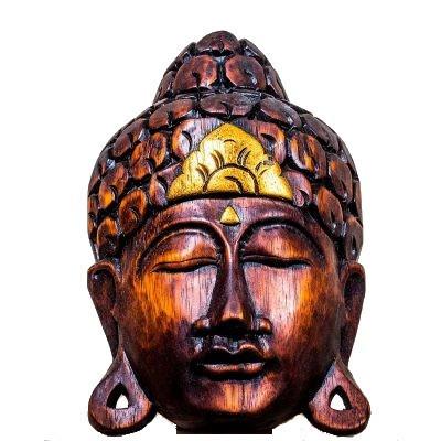 Mască Serenity Buddha, L foto
