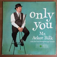 mr acker bilk the leon young string chorale only you disc vinyl lp muzica jazz