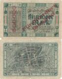 1922 ( 10 X ) , 500,000 mark ( Keller 339b.2 ) - Germania ( Berlin )