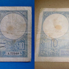 B128-Bancnote vechi Franta-Italia-Belgia- Serbia.