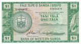 Samoa de Vest 1 Tala 1967 (2020) UNC