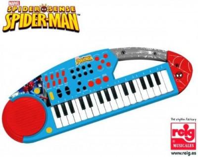 Orga electronica cu microfon Spiderman foto