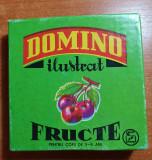 "joc pentru copii perioada comunista "" domino ilustrat - fructe """