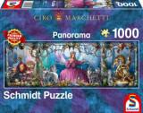 Puzzle Palat de gheata, 1000 piese, Schmidt