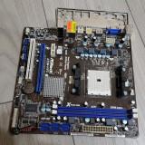 265S.Placa De Baza Asrock A55M-HVS,2xDDR3,Socket FM1, Pentru AMD, DDR 3