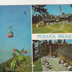 bnk cp Poiana Brasov - Vedere - circulata - marca fixa