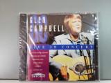 Glen Campbell - Live in Concert (1994/Music Collection/Germany) - CD/Nou/Sigilat, MCA rec