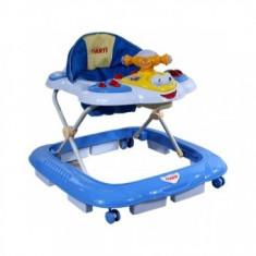 Premergator Pentru Copii First Steps Airplane - Albastru
