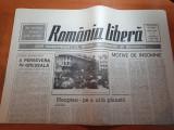 romania libera 6 mai 1990- iliescu despre evenimentele din piata universitatii