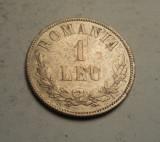 1 leu 1873 Detalii Frumoase