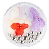 Cumpara ieftin Flori Uscate Unghii LUXORISE cu cristale - Floral Fairytale #10