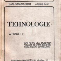 Tehnologie. Partea I