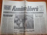 Romania libera 8 martie 1990-privatizarea pro sau contra,teroristii in proces