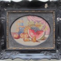 Tablou goblen , Natura moarta , 20 x 16 cm