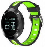 Cumpara ieftin Bratara Fitness iUni DM58 Plus, Waterproof, Display OLED, Ceas, Pedometru, Monitorizare puls, Notificari, Verde