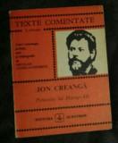 Povestea lui Harap-Alb / Ion Creanga Texte Comentate
