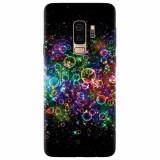 Husa silicon pentru Samsung S9 Plus, Rainbow Colored Soap Bubbles