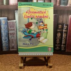 """Aurelia Fierascu - Gramatica limbii romane clasa a IV a """"A3420"""""""